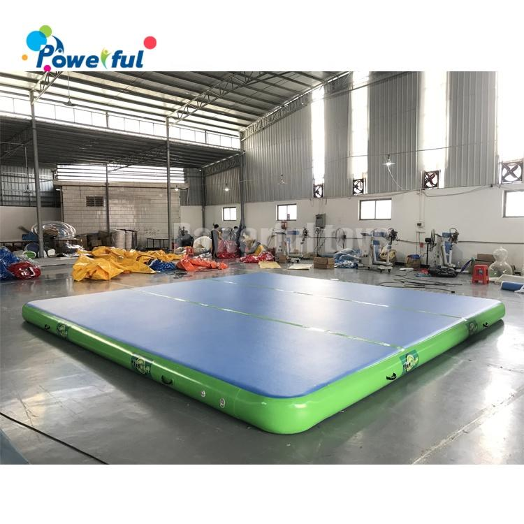 Ready to ship30cm height inflatable air track gymnastics landing mats for acrobatics