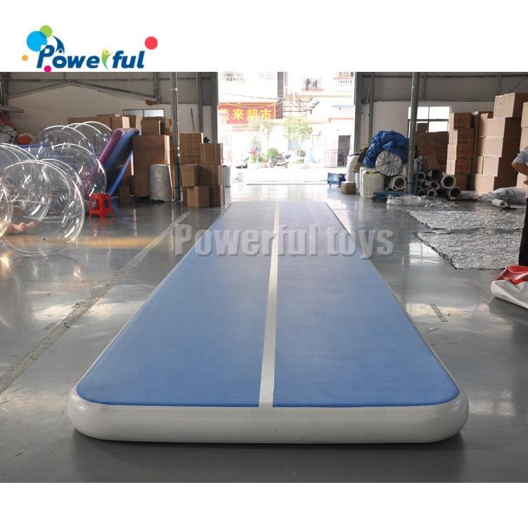 10m DWF inflatable gymnastics training tumbling air track