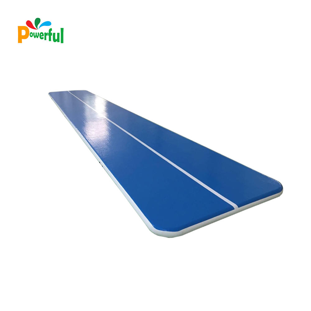 inflatable air track gymnastics air tumbling track swimming pool floating mat floor inflatable gym mat tumble track trampoline