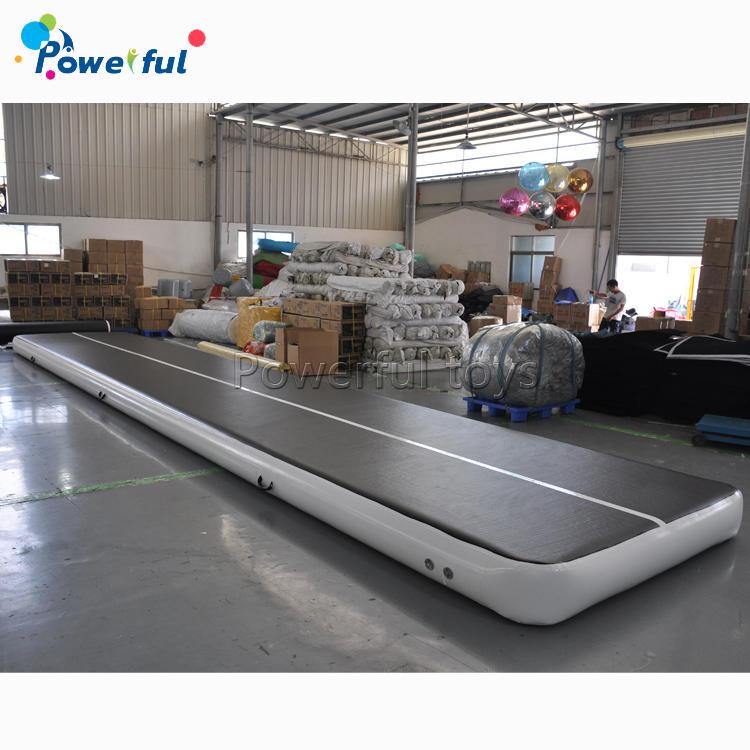 Wholesale black mat for gymnastics inflatable air track mat