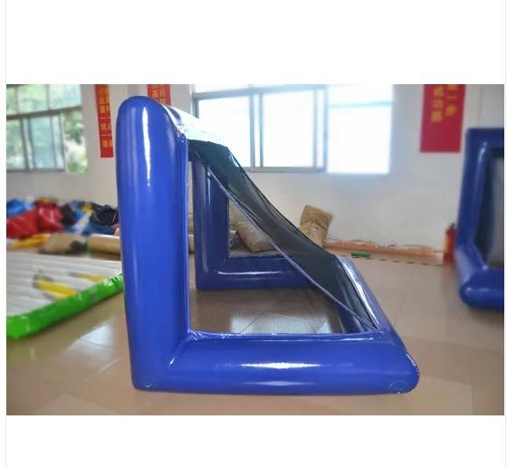 PVC inflatable football goal gate inflatable soccer door with football