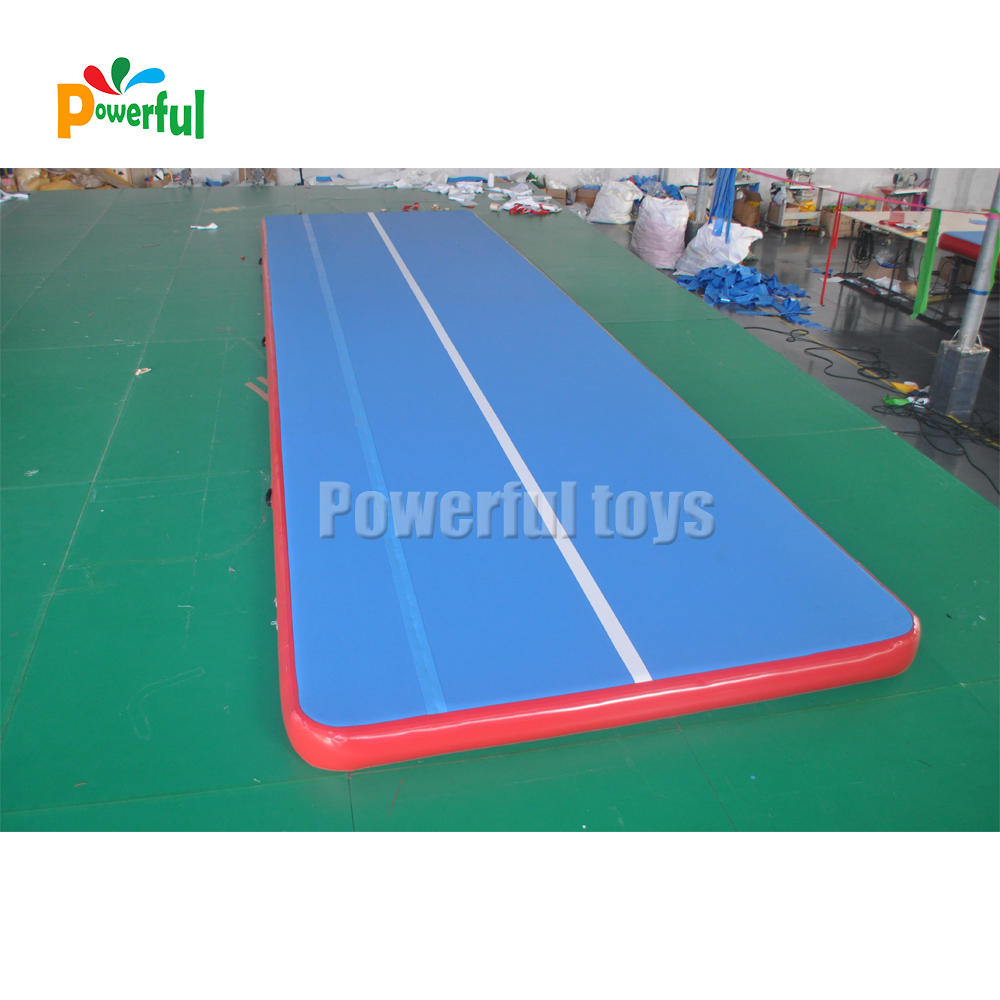 40 feet dancing bouncing mat inflatable gymnastic air track