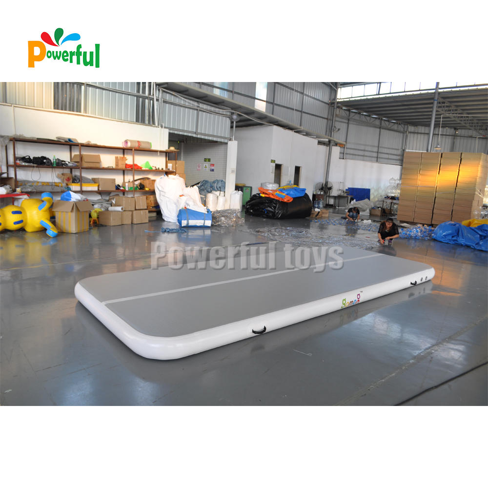 Airtrack factory 20cm Inflatable air track gymnasticstumbling mat for sale