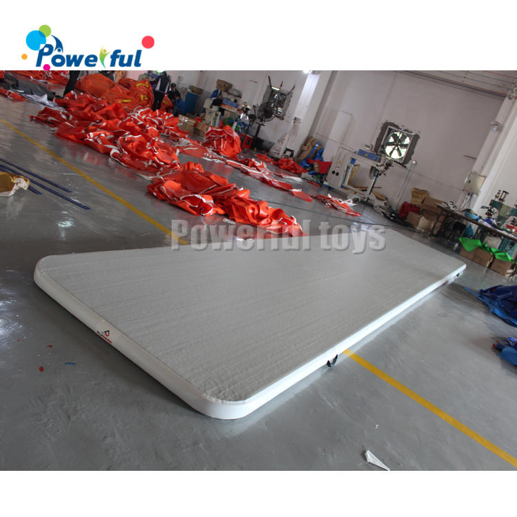 ready to ship inflatable air track for gym,inflatable air tumbling track mattress,inflatable air track