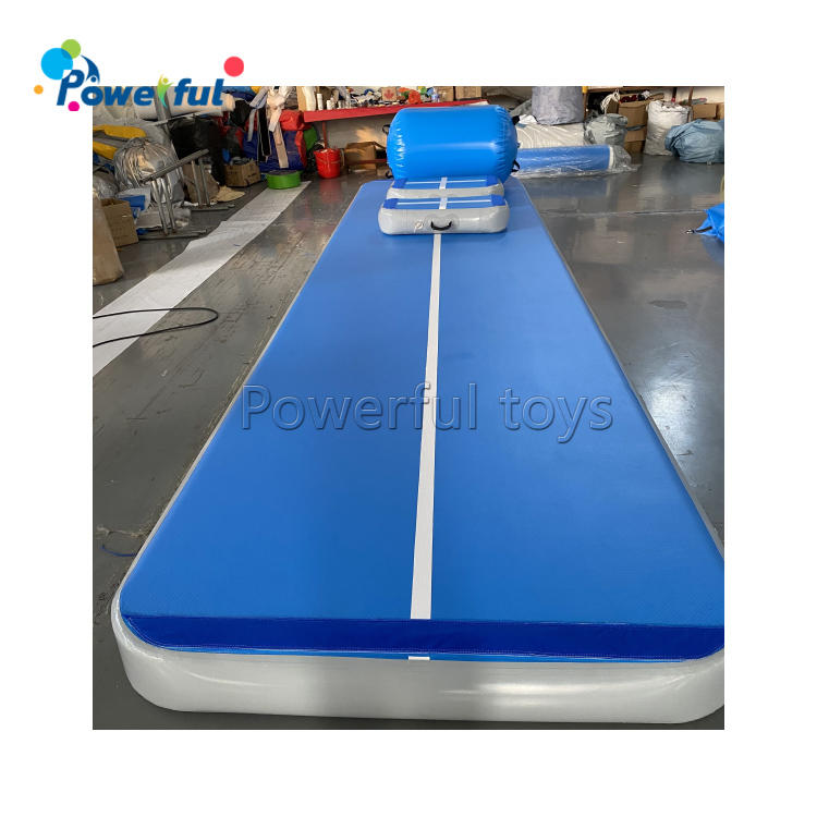 Training inflatable air track full set 6m air floor mat for gymnastic