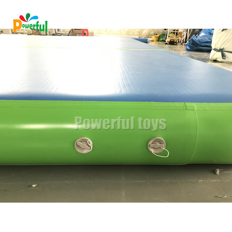 Whole sales inflatable air track 6x6m size square air track