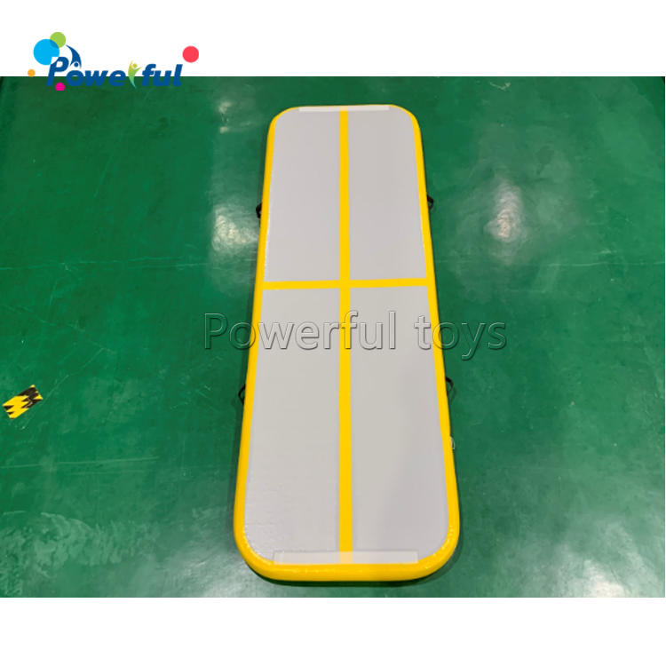 Air Track Tumbling Mat Gymnastics Inflatable Airtracks Mat with Electric Air Pump for Home Use