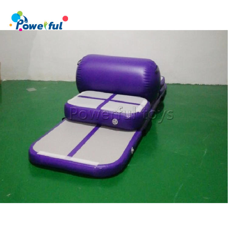 Cheap price 3m airtrack set inflatable gymnastic air track tumbling