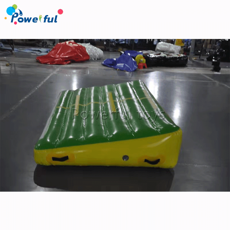 Customized inflatableincline gymnastics shapes slope wedge gym mat for gymnastics tumbling