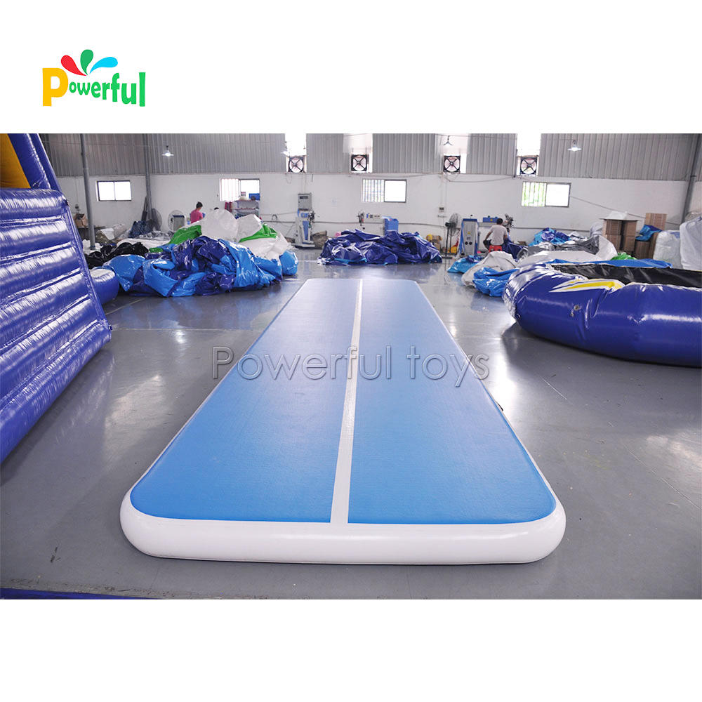 26feet PVC Tarpaulin Inflatable Air Tumbling Track 8m Airtrack