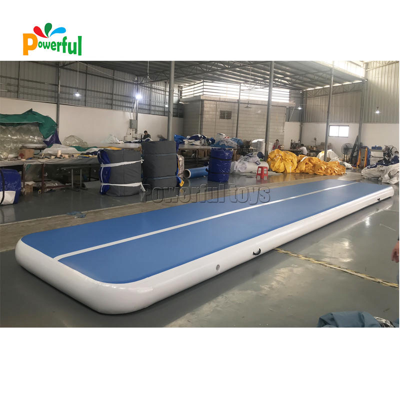Backyard gymnastic sports airtrack 10m inflatable tumble air track