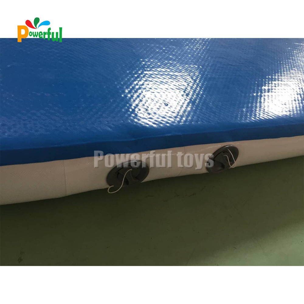 DWF inflatable mattress sport air race track,gym mat inflatable air tumble track
