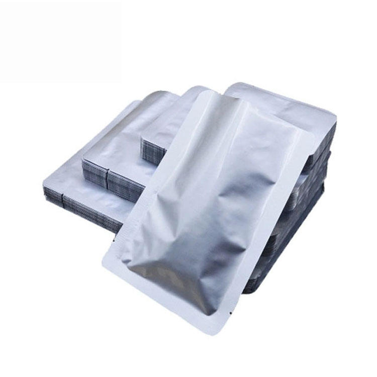 factory manufacture three side sealed aluminum foil vacuum packaging pouch bag