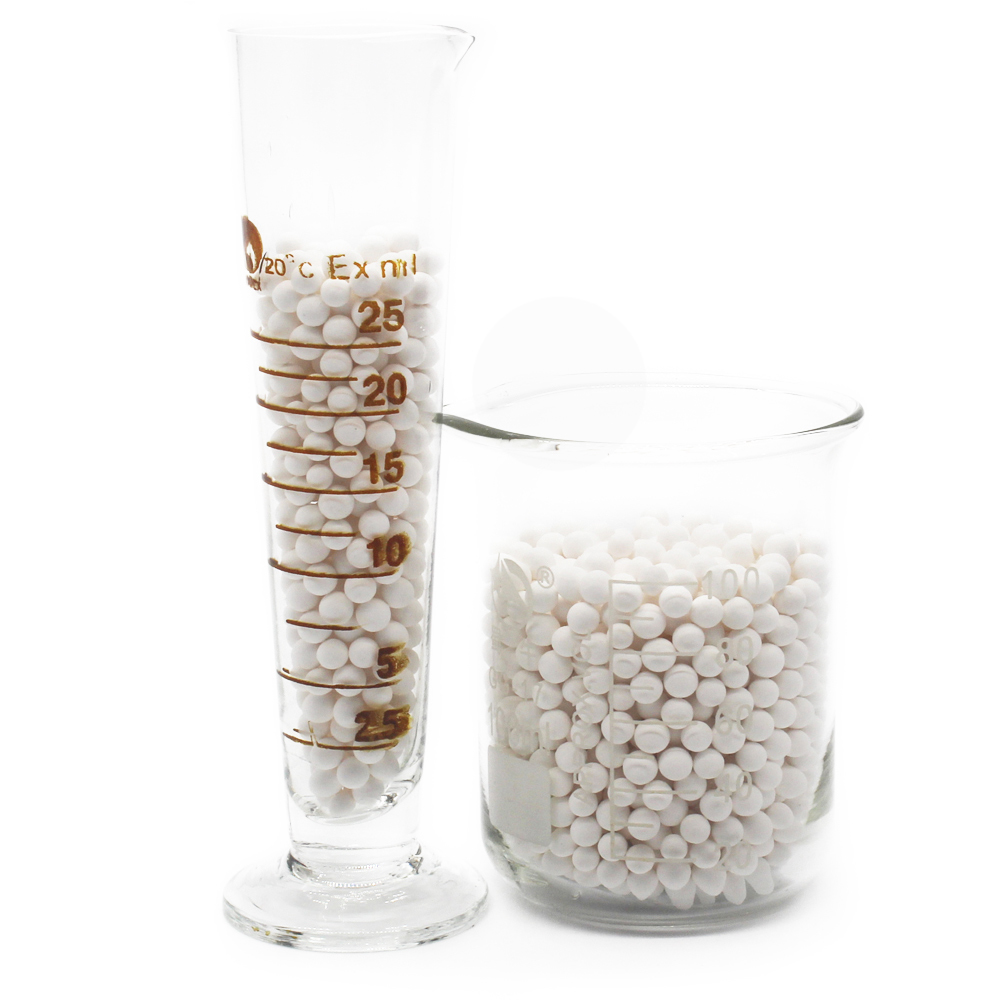 3-5mm white activated alumina drying agent