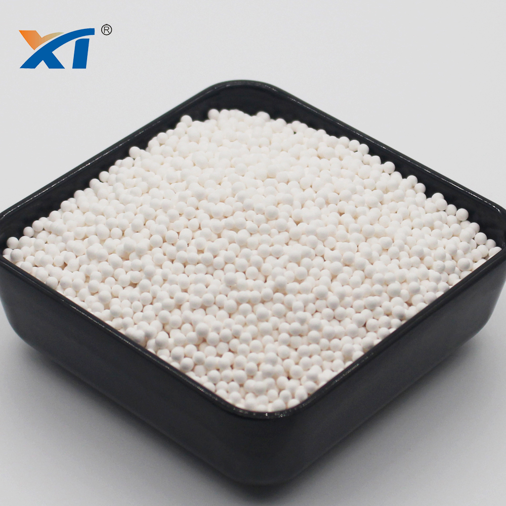 Defluorination 93% Al2O3 Activated Alumina Ball Catalyst
