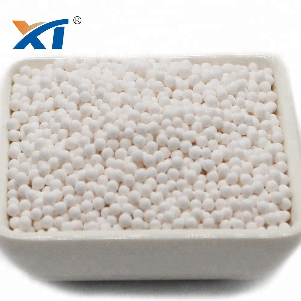Drying agent 2-3mm activated alumina for removing fluorides