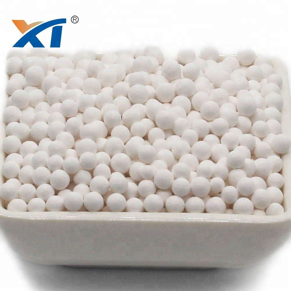 Customized 3-6mm activated alumina based carrier