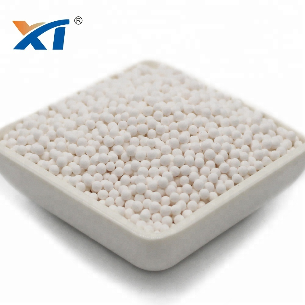 Desiccant msds 5-8mm white activated alumina ball activated alumina ball for oil refinery
