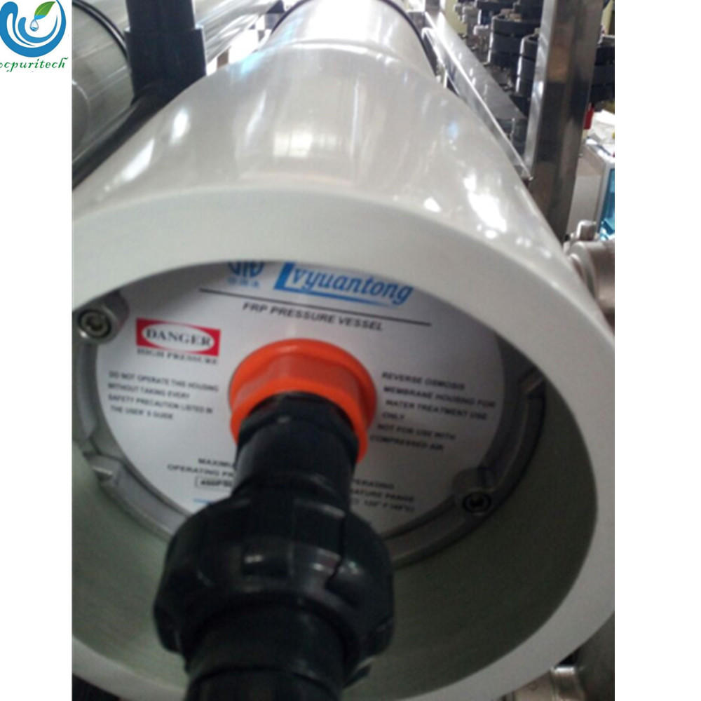8040 or 8080 FRP pressure vessel for reverse osmosis water treatment plant