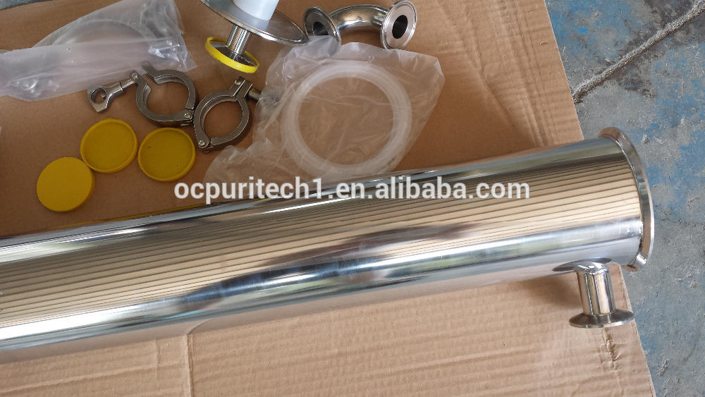 4 inch / 8 inch stainless steel pressure vessel ro membrane housing