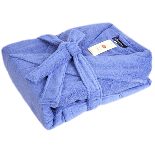 Hot Sale Luxury 100% Cotton Terry Bathrobe Cloth Robe For Adults Multi colors
