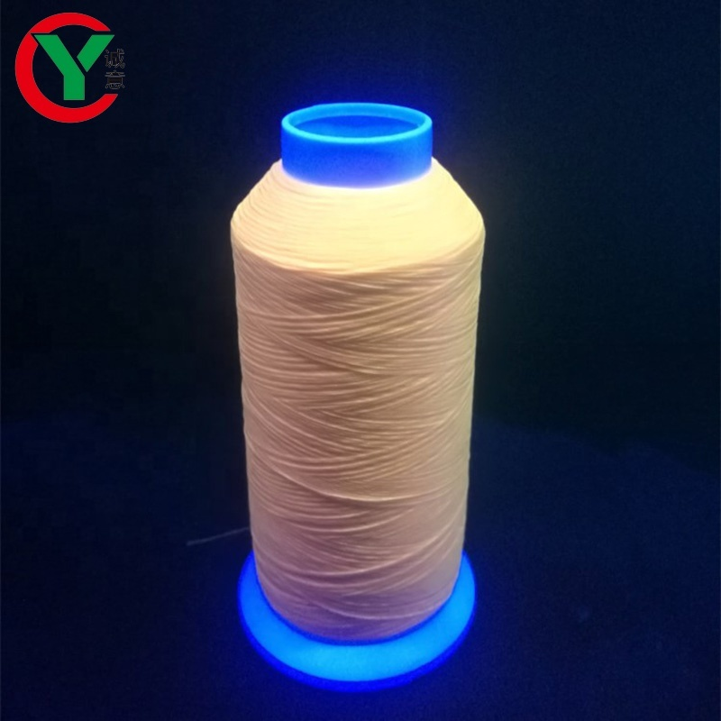 Best selling polyester luminous filament thread for embroidery