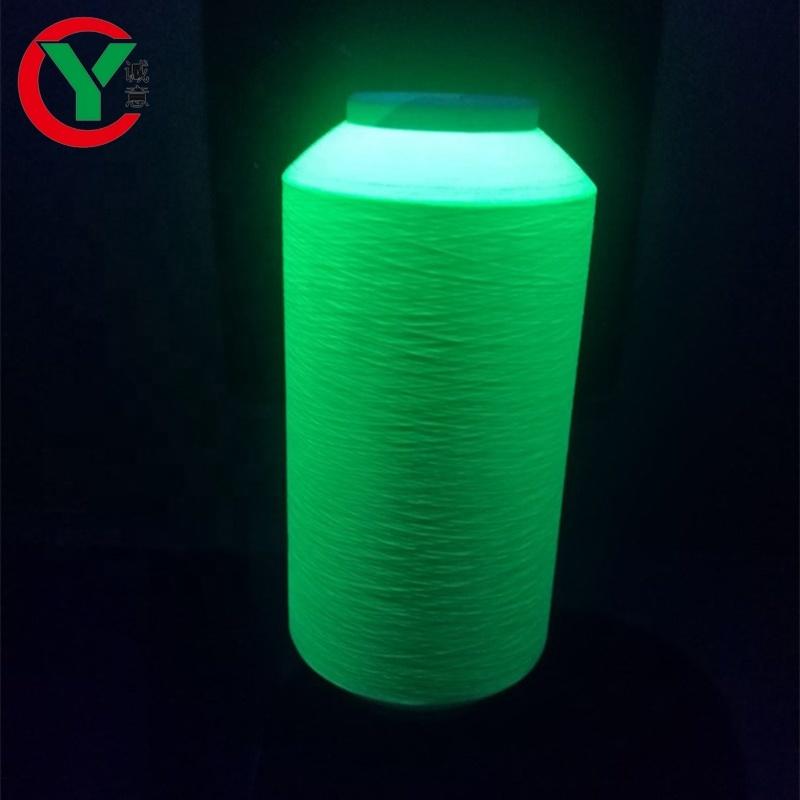 Polyester DTY Sock Knitting Luminous Yarn 150D/36F