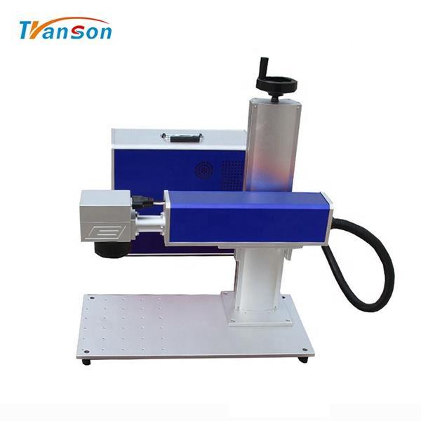 Mini Fiber Laser Marking Machine 20W 30W 50W For Gold Silver Steel Aluminum