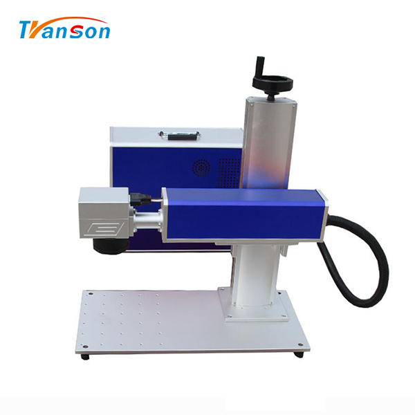 50w Jewelry Marking And Cutting Machine With Rotary Device