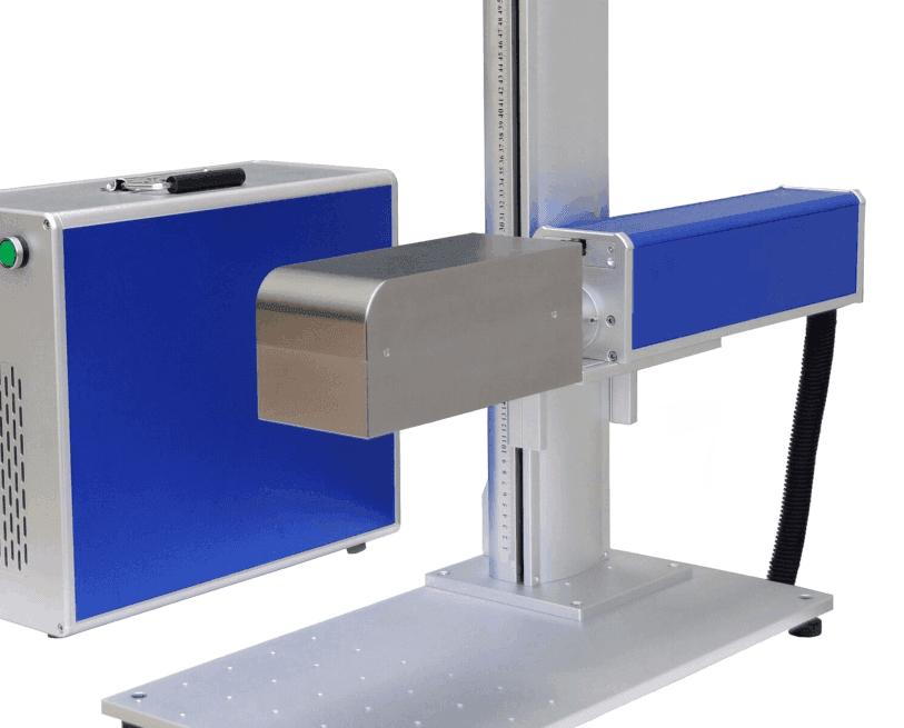 mini fiber laser marking machine - Dynamic focusing for metal