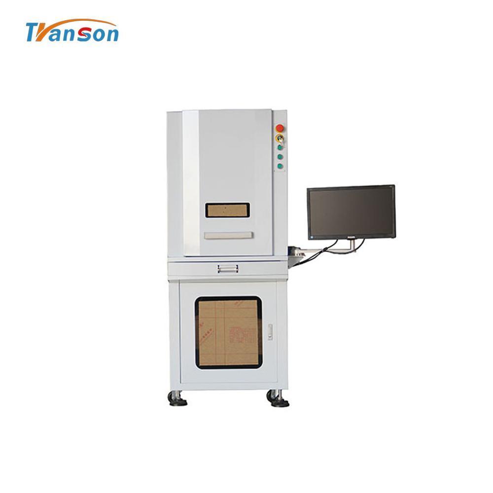 100W Full Enclosed 3D Fiber Laser Engraver Marking Machine