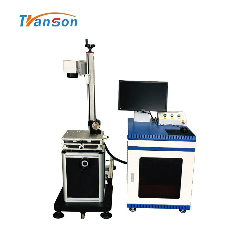 80w Split fiber laser marking machine