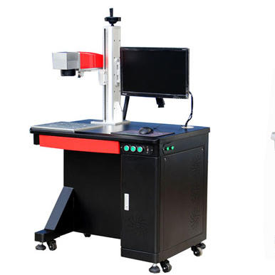 20W Desktop Mopa Colorful Laser Marking Machine For Stainless Steel