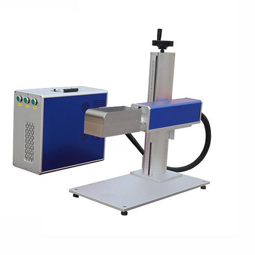 100W mini 3D fiber marking machine - Dynamic focusingfor jewelry metal ring