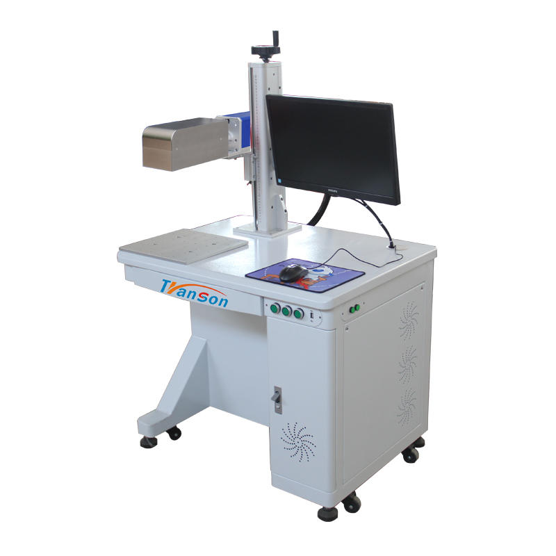 20W 3D DesktopFiber Laser Marking and Engraving Machine