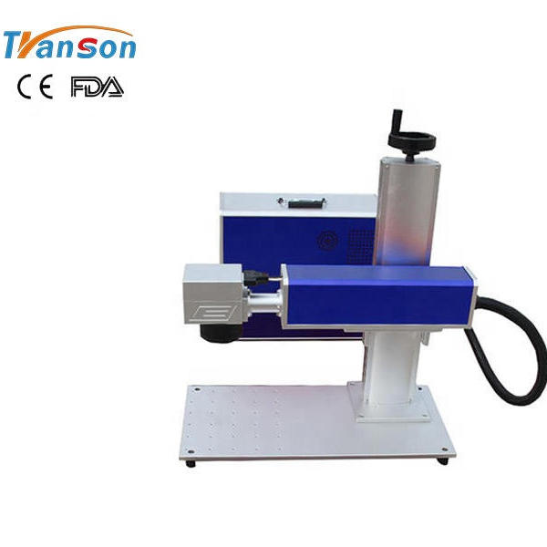 20w Mini Laser Marking Machine For Valuable Metals