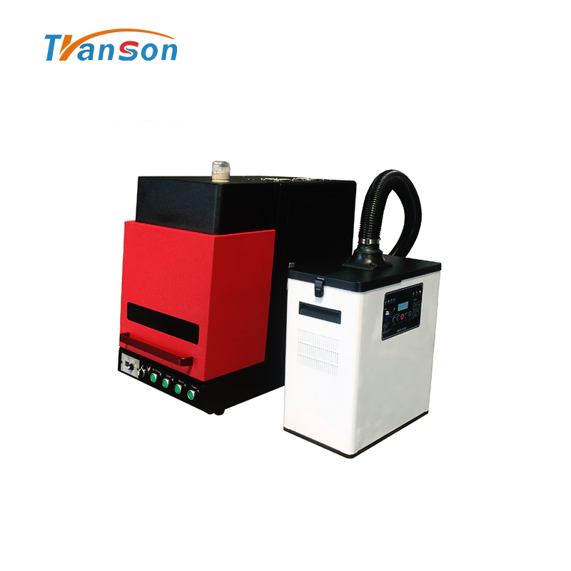 China Enclosed Fiber Lazer Marker Machine With Air Filter 20W For Sale