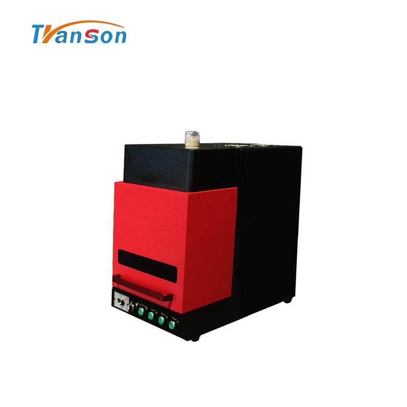 High Quality Mini Enclosed Fiber Laser Machine From China Transon