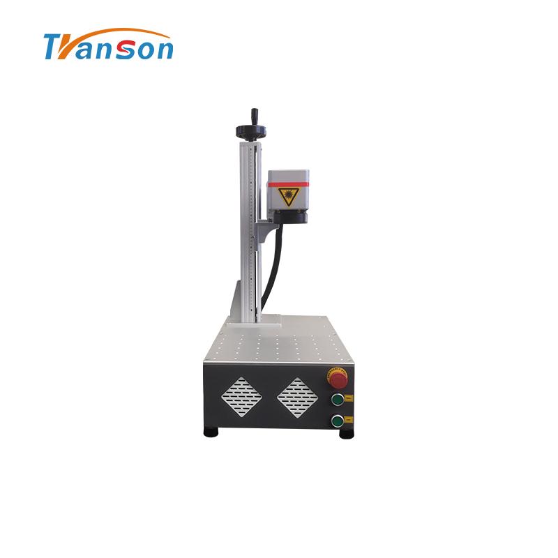Low price economical mini fiber laser mark machine factory sale super lazer