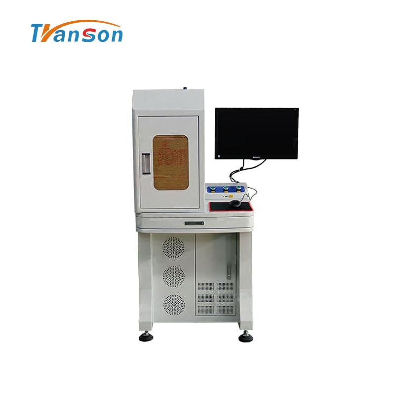 50W Fiber Laser Marking Machine Semi-Enclosed Type