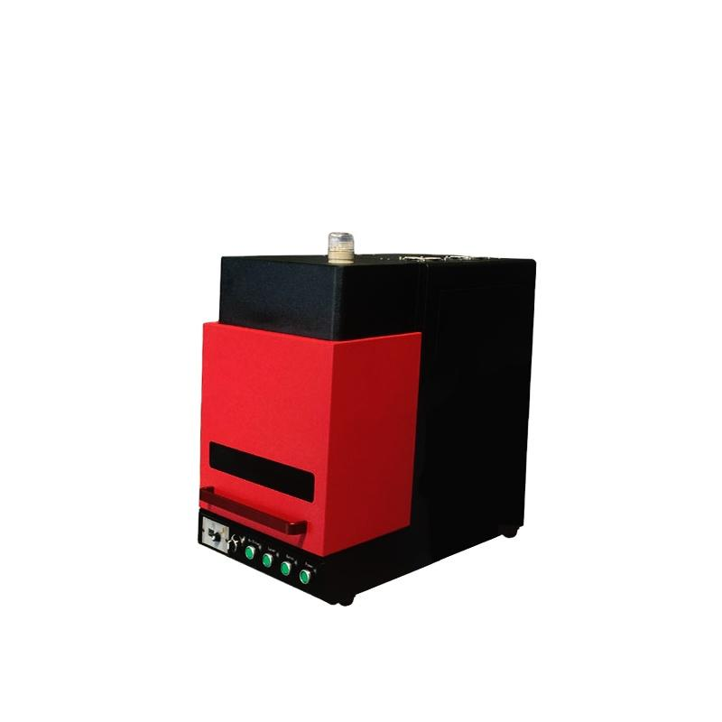 China Transon High Quality Mini Enclosed Fiber Laser Machine For Sale