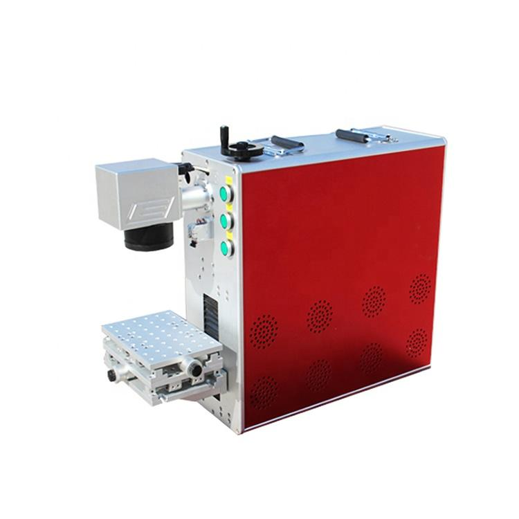CNC Low Cost High Precision Marking Mini Portable Plastic Pcb Fiber Laser Marking Machine