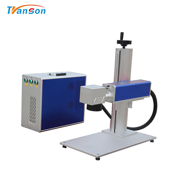 100W Mini Fiber Laser Marking MachineFor Gold Silver Steel Aluminum