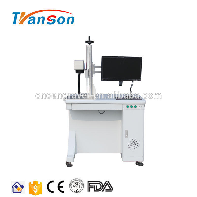High Speed 50W Galvo Laser Marking Machinery Price for Metal ABS Nylon
