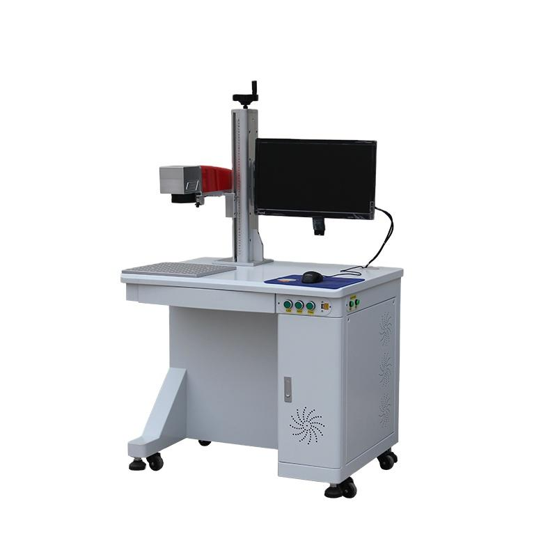 Hot SaleDesktop Super Fiber Laser Marking Machines For Metal
