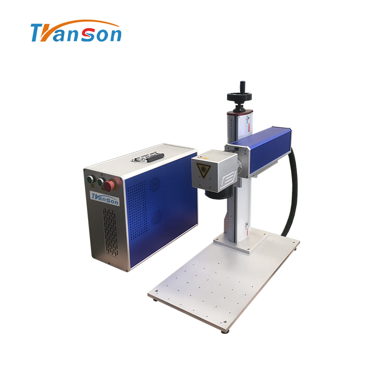 Raycus 20W Advanced Optical Mini Fiber Laser Marking Machine For Metal Plastic