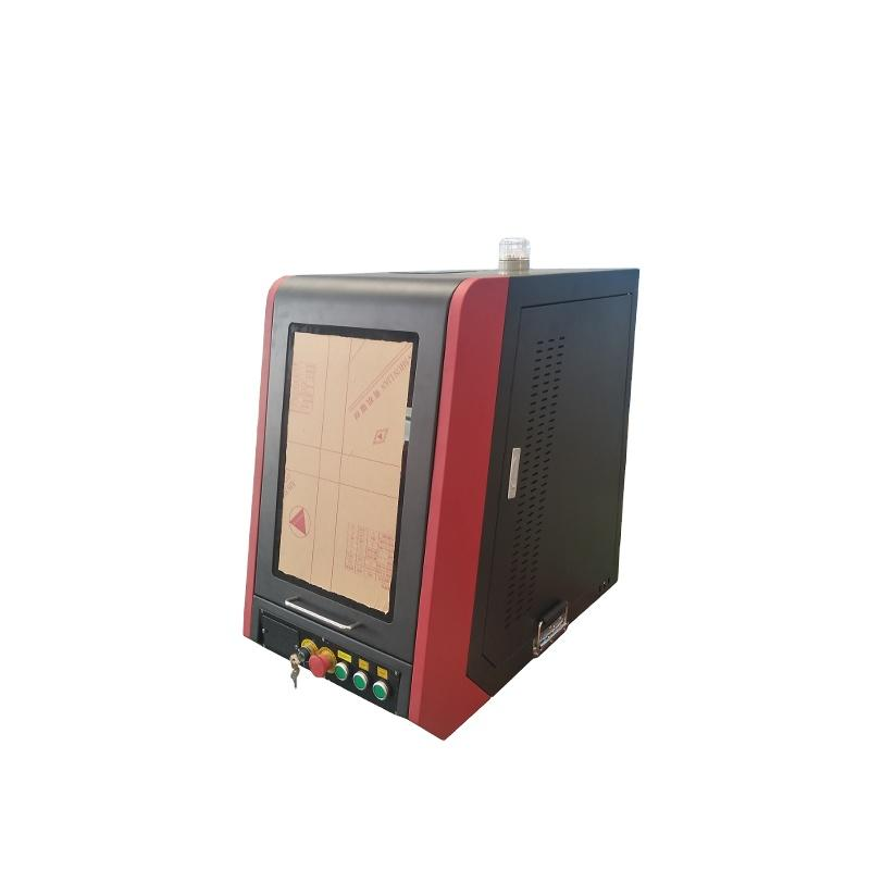 Hot Sale CNC Mini SealedSuper Fiber Marking Machine For Marking Patterns