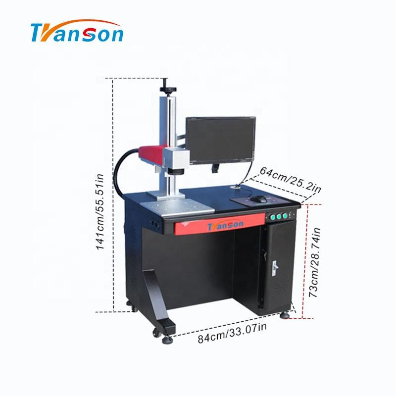 20W High Precision Desktop and low MaintenanceFiber Laser Marking Machine
