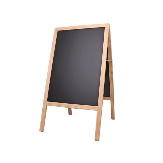 Rustic wood chalk board frame for wedding restaurant coffee