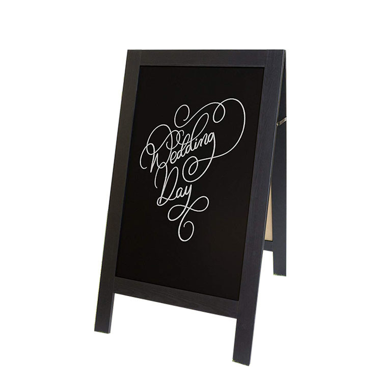 Popular Useful Heavier Grade Wood Fram Chalk Board With Stand
